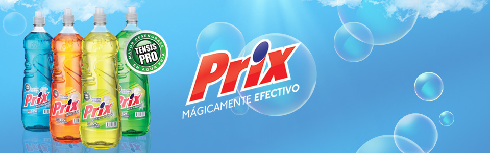 PRIX Detergent, magically effective
